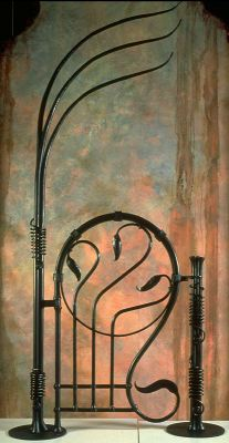 Gate, enrique art metal