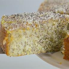 Double Lemon Drizzle Cake, Delia Smith