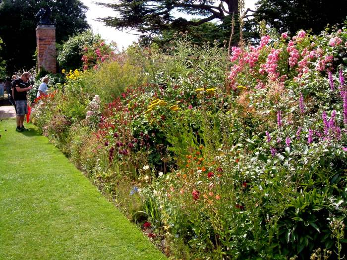 One of the long borders
