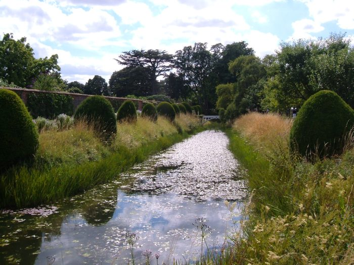 The moat around the Walled Garden