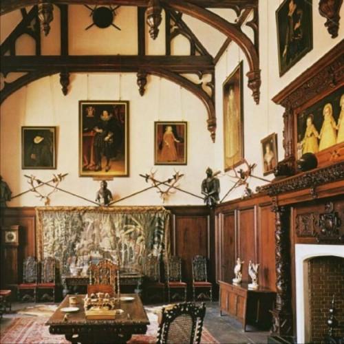 Helmingham Hall, interior