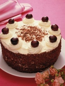 Model for Black Forest Cake