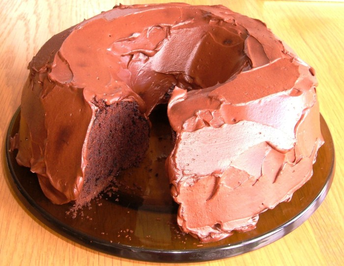 Chocolate Guinness Cake with Chocolate & Sout Cream Icing