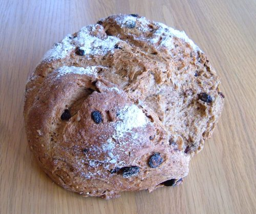 Wholegrain & rye bread with soya milk
