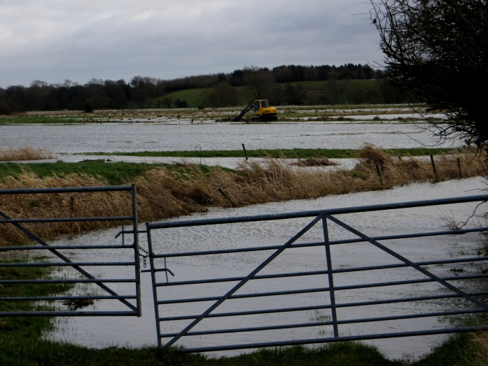 Flooding in the Waveney Valley