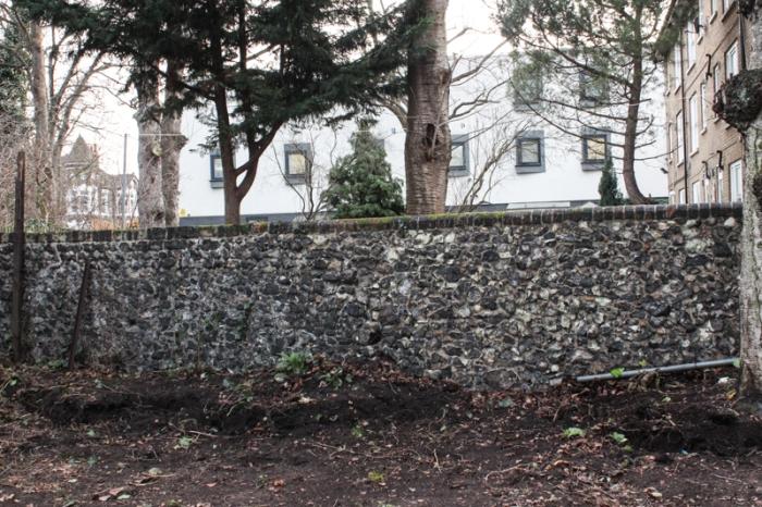 The flint wall