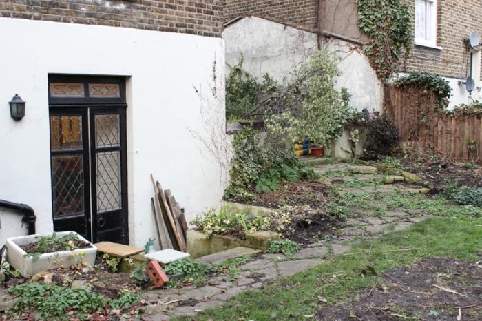 Back garden 'path'