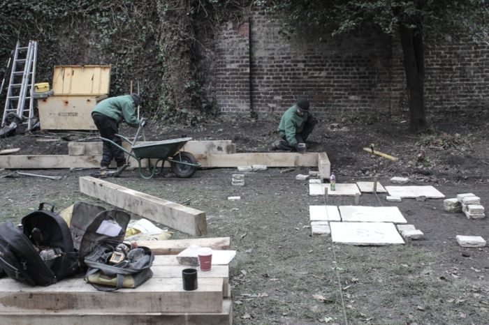 London garden, Day 3, Makeover
