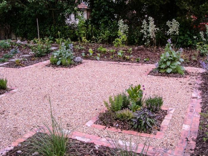 The garden in 2011