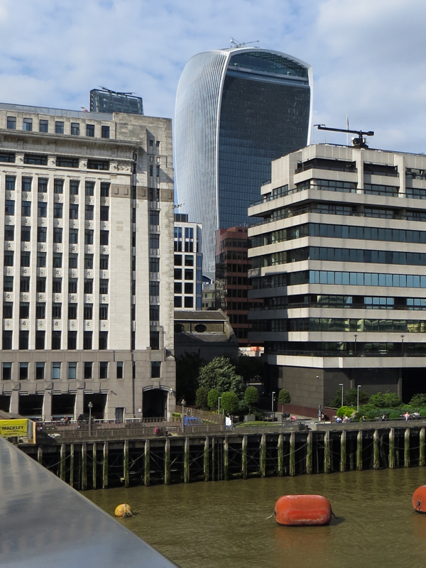 20 Fenchurch Street from London Bridge