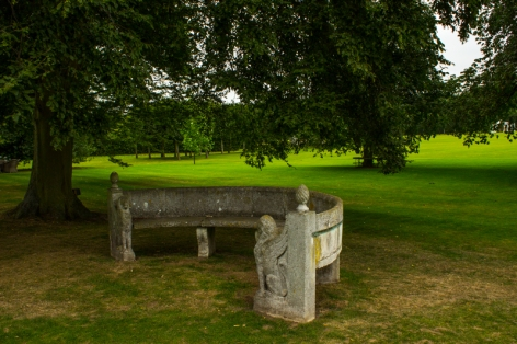 In the grounds, Houghton Hall