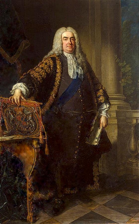 Sir Robert Walpole (https://commons.wikimedia.org/wiki/File:Retuched_Painting_of_Robert_Walpole.jpg)