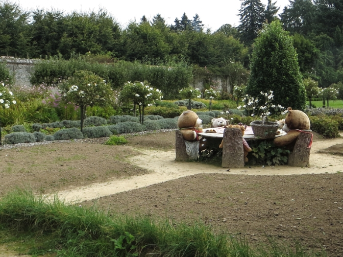 A Teddy Bear's Picnic in the Walled Garden