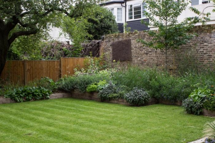 A corner of the London garden