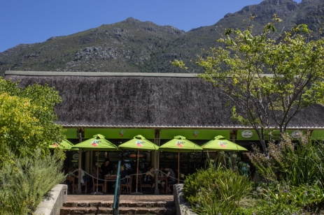 The cafe at Kirstenbosch