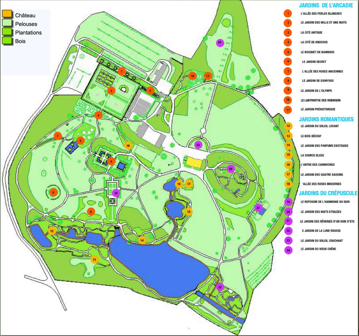 Parc botanique de haute bretagne jardins du crepuscule enthusiastic gardener - Parc botanique de haute bretagne ...