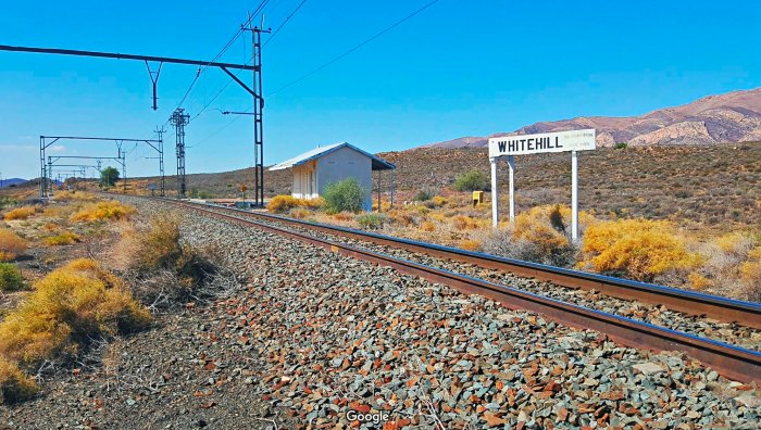 Whitehill railway siding (Google)