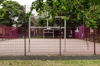 The multi-purpose sports court