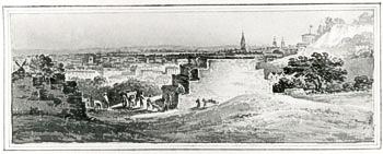 Faulkener's Brick Kiln, east end of today's Brookbank Road, c.1810 (ideal-homes.org.uk-lewisham)